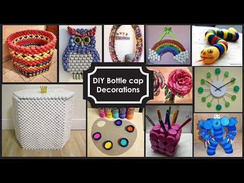Ideas de Reciclaje de taparroscas/Diy Bottle Cap Crafts Ideas