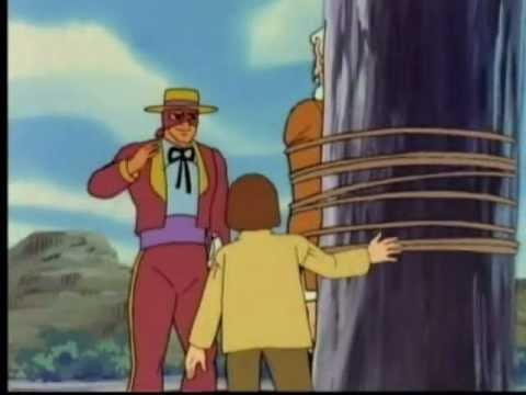 Zorro Cartoon - The Frame In 3D