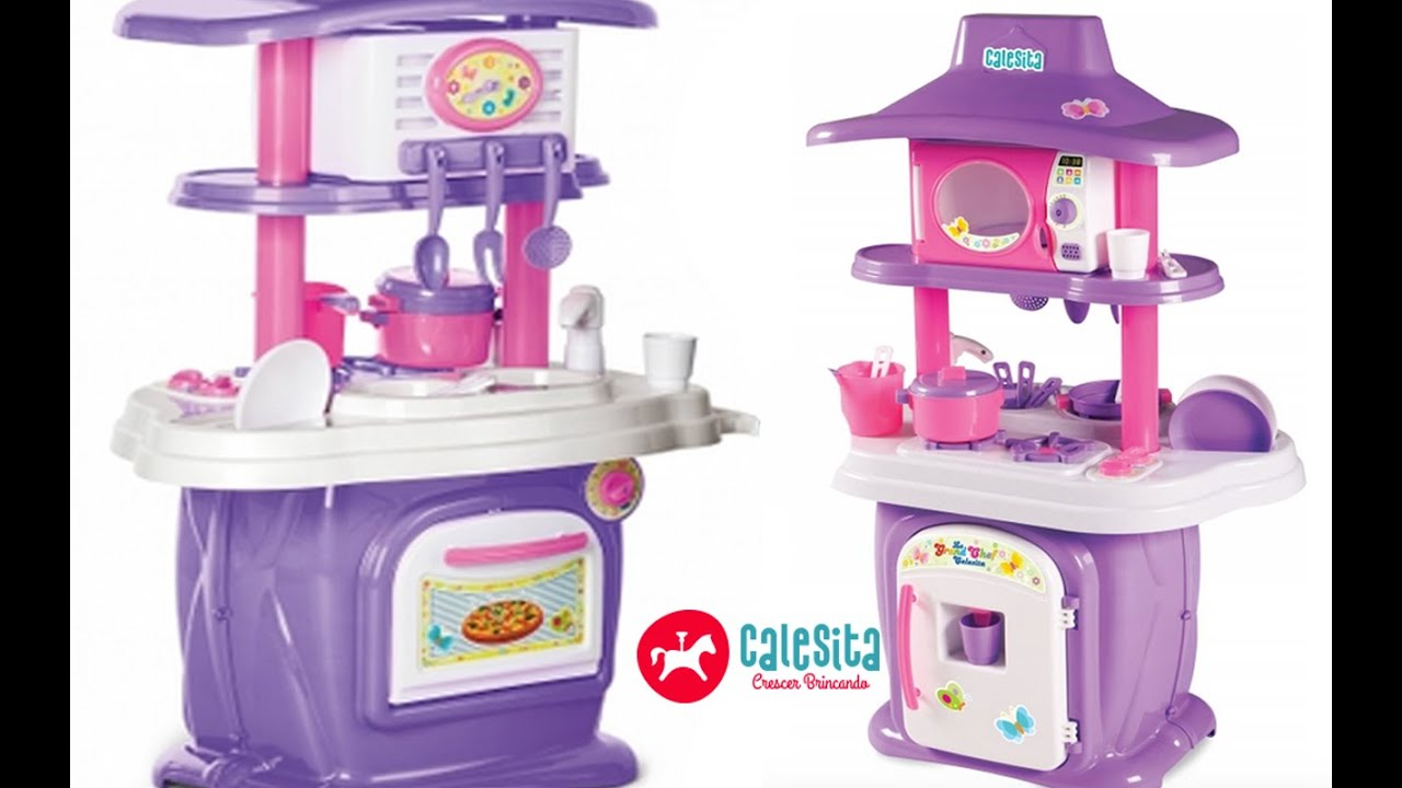 31fa67f72c Playset Cozinha Le Grand Chef Calesita ToysBR - YouTube