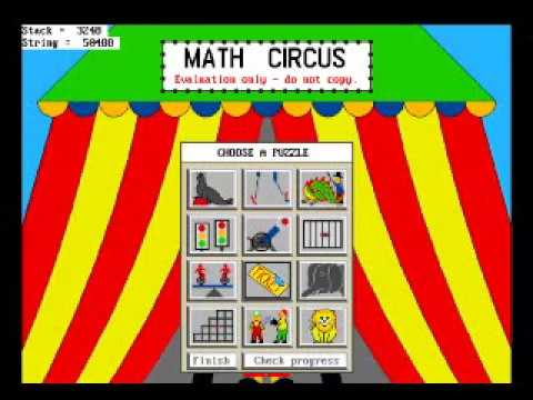 Let's Play: Math Circus!!
