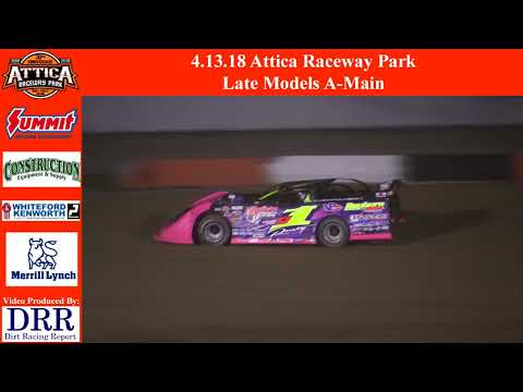 4.13.18 Attica Raceway Park Late Models A-Main
