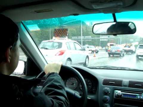 Accident at freeway 5 South / Accidente el auista 5 Sur