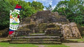 Flag Map Speedart - Belize
