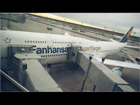 Lufthansa- LH755- Bangalore to Frankfurt- Business Class- Upper Deck- Boeing 747-8i