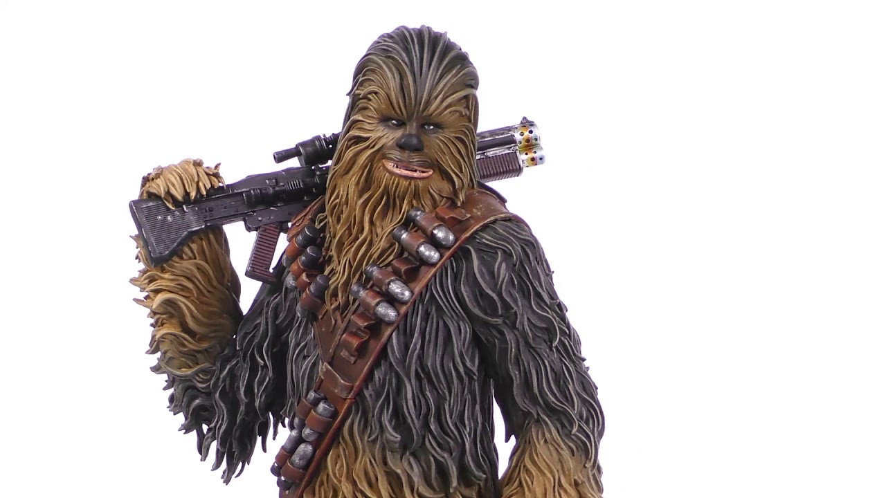 Star Wars Solo Chewbacca Mini-Bust Unboxing + 360