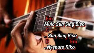 Chord/Kunci Gitar - Sing Biso