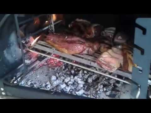 Churrasqueira Parrilla Modelo Argentina - Estela Maris
