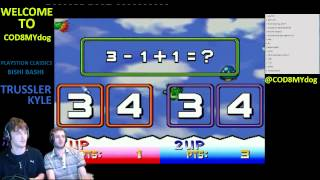 Trussler and Kyle play Bishi Bashi special... its funny ...