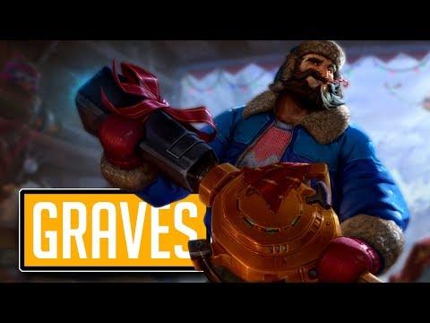 League of Legends #571: Graves Jungle (CZ/Full HD/60FPS) thumbnail