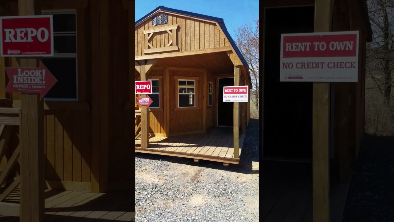 12x28 Lofted Deluxe Playhouse - Repo