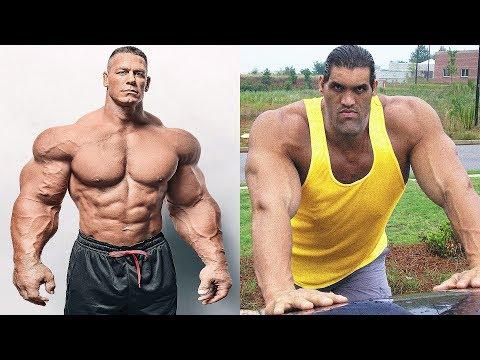John Cena vs The Great Khali Transformation ★ 2018