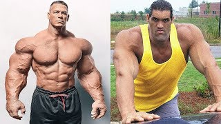John Cena vs The Great Khali Transformation ★ 2019