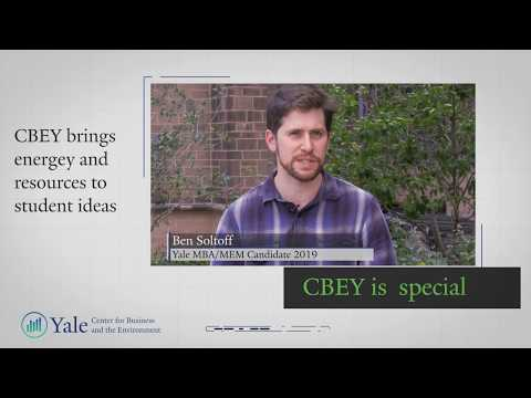 Yale's Center for Business and Environment Degree Program