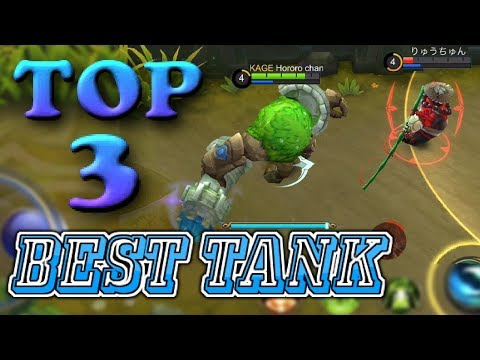 TOP 3 BEST TANK IN THE GAME
