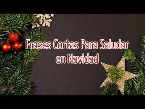 Selecci�n de Frases Cortas Para Saludar en Navidad - Feliz Navidad!!!
