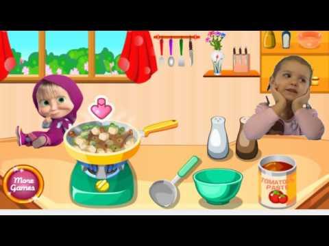 ✿МИСС КЭТИ Маша и Катя готовят Суп Маша и Медведь Новые серии Masha And The Bear Compilation