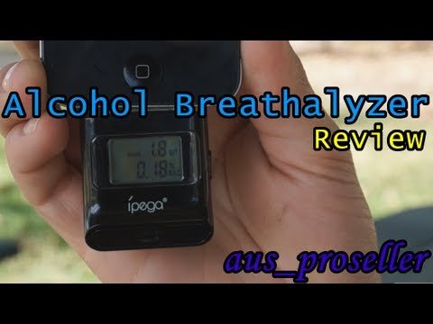 Alcohol Tester (Breathalyzer) For IPhone, IPod And IPad