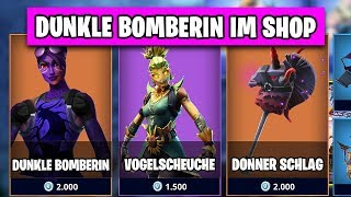 Finsterbomber bzw. Dark Bomber Skin IM SHOP 🛍️🛒 | Fortnite Season 6 Skins Leaks Deutsch German