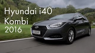 Hyundai i40 Kombi 2016 смотреть