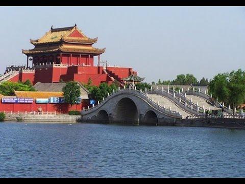 """Kaifeng:  La pagode de fer """"Iron pagoda"""" et le palais impérial, Chine (documentaire)"""