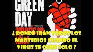 Green Day - Letterbomb subtitulada en español