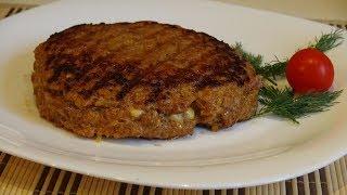 Как приготовить гурманскую плескавицу. Готовим мясо быстро и вкусно.