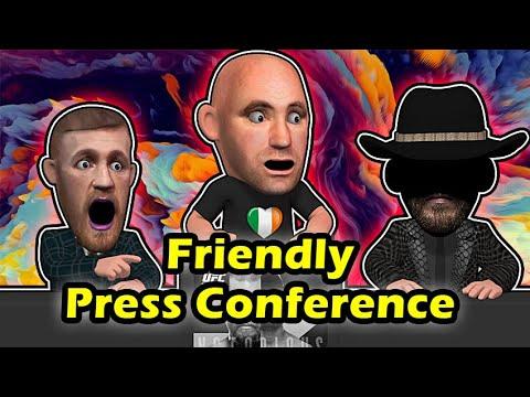 Conor Mcgregor Vs Donald Cerrone Press Conference