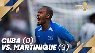 Cuba (0) vs. Martinique (3) - Gold Cup 2019