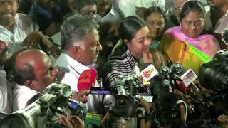 Jayalalitha Niece Deepa and roots in a combined OPS