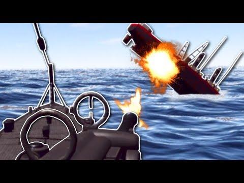 SINKING SHIPS! - IronWolf VR Multiplayer Gameplay - VR Submarine Simulator Game