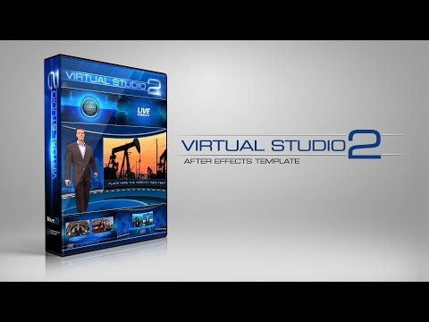 After Effects Template Virtual Studio Set 2