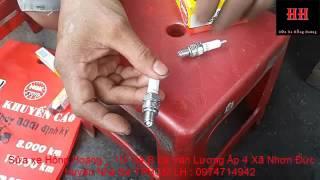 Sửa xe Cùi Bắp _ Cách chọn bugi đúng chỉ số nhiệt cho xe máy