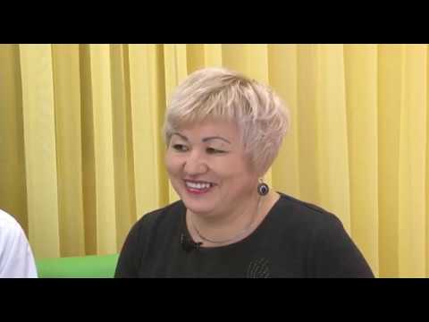 Айгуль Сегизбаева, Гульмира Ильясова, победители конкурса на лучший профориентационный кабинет