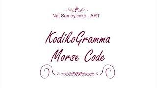 Хобби которому дала название -  KodikoGramma. Украшения в стиле Morse Code