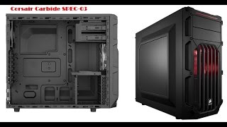 Corsair Carbide SPEC-03 Midtower Budget Gaming Case Overview