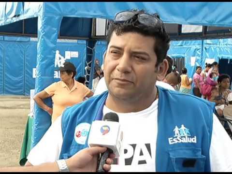 HOSPITAL MOVIL PERU PEDERNALES CÉSAR GARCÍA ECUADOR TV
