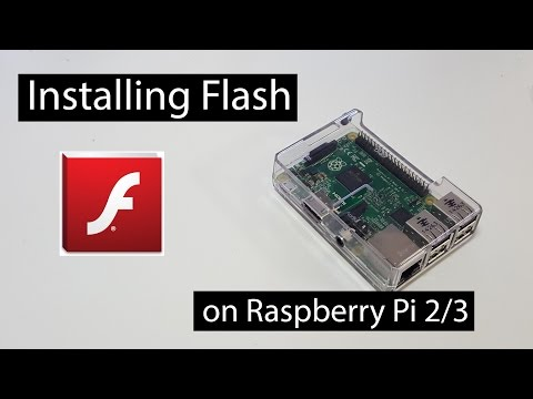 Installing Flash on Raspberry Pi 2/3 - Novaspirit
