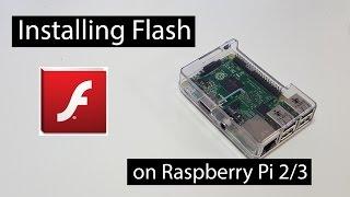 Installing Flash on Raspberry Pi 2/3