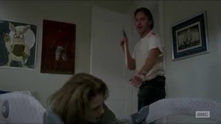 The Walking Dead \ Rick nearly attacks Deanna