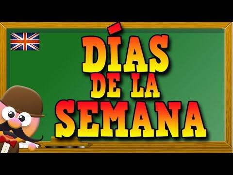 Días De La Semana En Inglés Aprende Inglés Con Mr Pea English For Kids Youtube