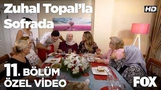 Seher Hanım'ın eşi yemekleri tadıyor!  Zuhal Topal'la Sofrada 11. Bölüm