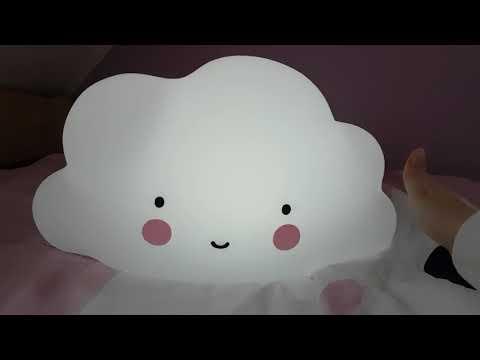 """Unser Nachtlicht """"Wolke"""" von A Little Lovely Company"""