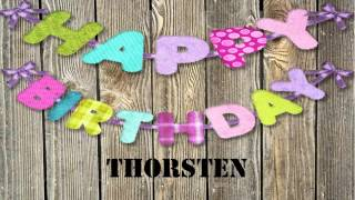 Thorsten   wishes Mensajes