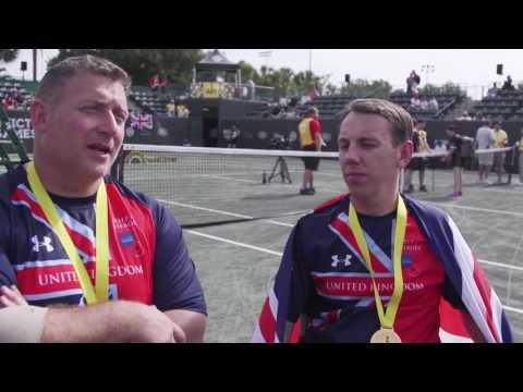 Wheelchair Tennis & The Invictus Games