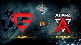 GameTV vs Alpha Team [Vòng 2 - Ván 1] [17.09.2017]