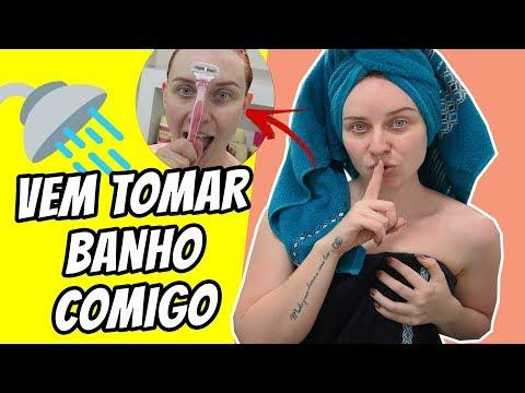 MINHA ROTINA NO BANHO 💦 | Priscila Simões thumbnail