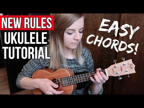 New Rules - Dua Lipa | EASY UKULELE TUTORIAL