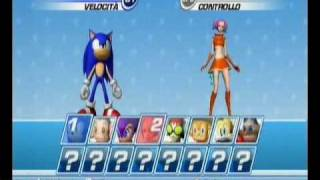 SEGA Superstars Tennis - ITALIANO - GAMEPLAY WII
