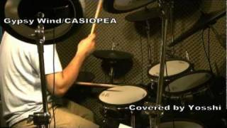 Gypsy Wind(CASIOPEA) Drum Cover