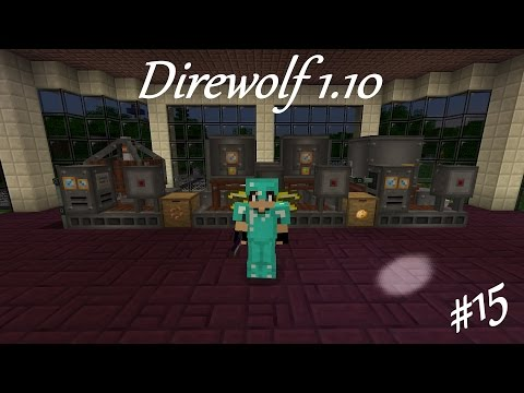 Direwolf 20 1.10 Let's Play Ep. 15: Diesel Power